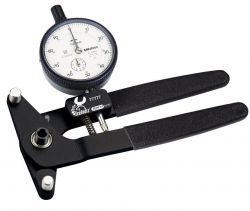 """IceToolzXpert spoke tension meter E381, analogue from 18"""", black"""