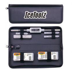 IceToolzXpert tapset E158, compleet met wringijzer in etui, zwart