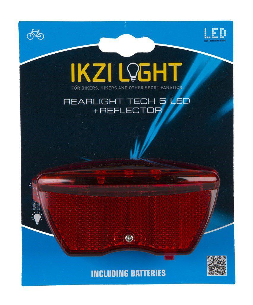ikzilight achterlicht 5xled drager reflector