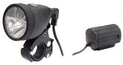 IkziLight headlight batterypack(rechargeable), 1 white Cree LED 3W QR, black