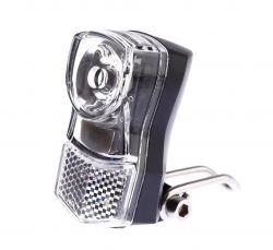 IkziLight headlight Little, 1 white LED 1W bracket, CP