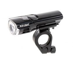 IkziLight headlight Mr. Brightside, 1 white Hi-Tech LED 3W bracket, black