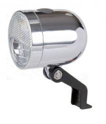 IkziLight headlight Nero, 1 white LED 1W bracket, CP