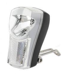 IkziLight headlight The Boss, 1 white LED 1W bracket, black