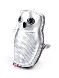 IkziLight headlight Wise, 2 white LED bracket, black