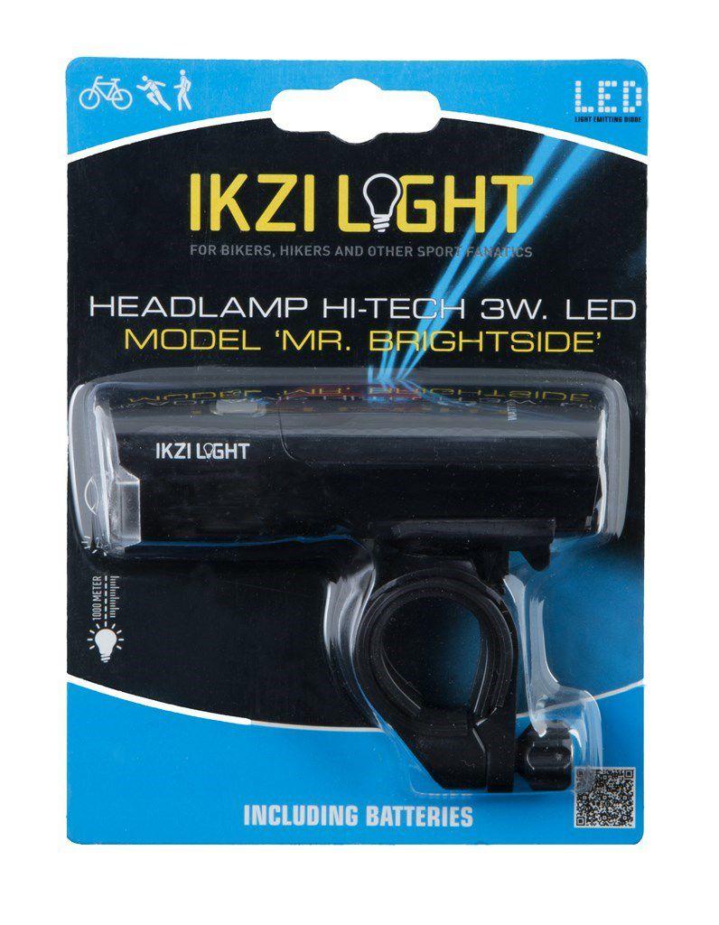 ikzilight koplamp mrbrightside hitech 3wled zwart