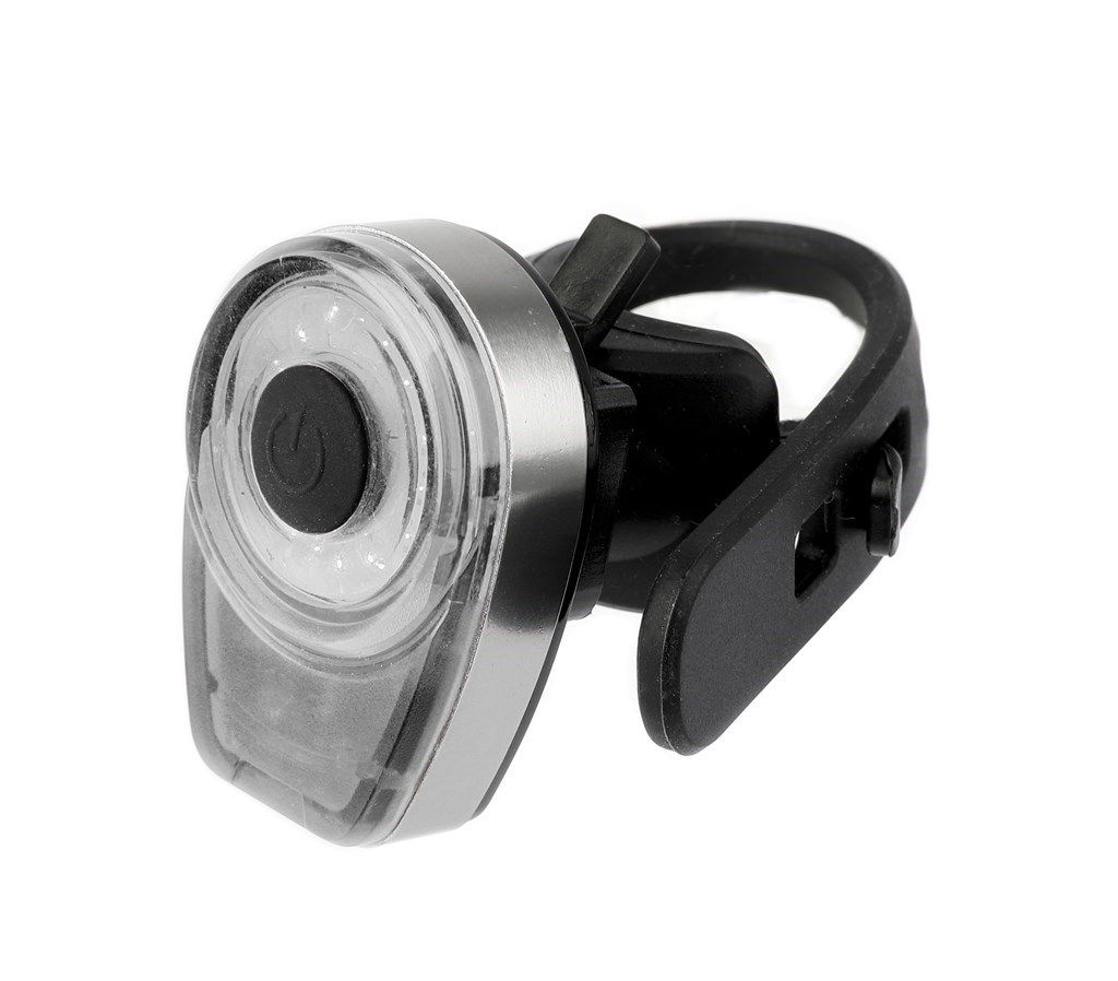 ikzilight koplamp round16 met witte cob ledring usb kabel