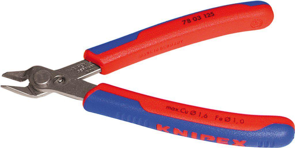 cyclus knipex snijtang voor elektronica kabelbinders ed
