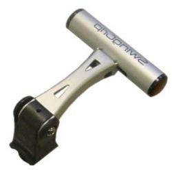 Minoura accessory holder SG-200, SwingGrip ø22~35mm L100, silver