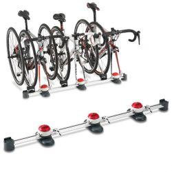 Minoura fietsdrager Vergo-TF3, 3 fietsen, zilver