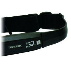 Minoura heart rate sensor ANT+, with chest strap wireless, black
