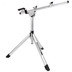 Minoura repair stand RS-1800, foldable tripod, silver