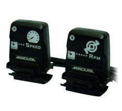 Minoura speed / cadence sensor ANT+, wireless, black