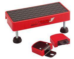 Minoura step/front guard MoZ-Roller, anti-slip, red