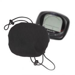 Mirage beschermhoes stuurdisplay E-bike, trekkoord met gespen max.11x8cm, zwart