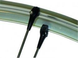 Mirage bevestiging speedclip, met stangspanmoer ø2.5~3.5mm, zwart