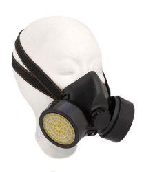 Mirage dust mask half-face, 2 filters unisex, black