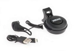 Mirage E-horn T-002, USB rechargeable 80~90dB, black-matt