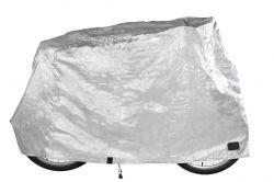Mirage fietsbeschermhoes Rainfall, universeel 1 fiets, zilver