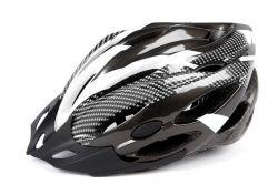Mirage helm aerodynamisch, Allround 54~58cm, zwart|wit