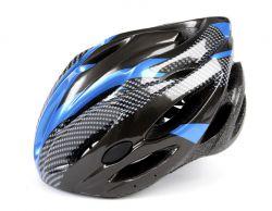 Mirage helm aerodynamisch, Allround 58~62cm, zwart|blauw