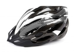 Mirage helm aerodynamisch, Allround 58~62cm, zwart|wit