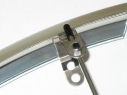 Mirage houder voor spatbordstang 45mm