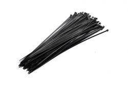 Mirage kabelbinder sjorband, 390mm 4.8mm, zwart