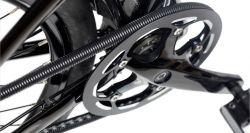 Mirage kettinghuls Freedrive, lichtgewicht 1.45m x ø7~9mm, zwart