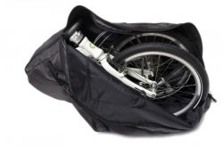 Mirage shoulder bag Storage, folding bike 16~20 inch, black