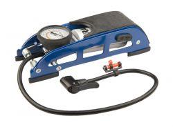 Mirage trapvoetpomp hoge druk cilinder, met drukmeter universeel, blauw