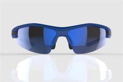 Mirage zonnebril blauw/zwart - Sapphire lenzen
