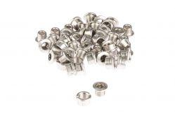 Miranda chainring bolt, with nut M8x0,75 - L.5mm, silver