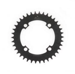 Miranda chainwheel ChainFlow®, BCD 104 mm, 4-hole 38T, black