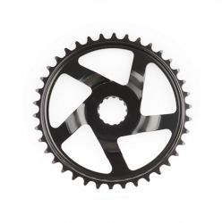 Miranda chainwheel universal, direct mount E-bike 38T, black
