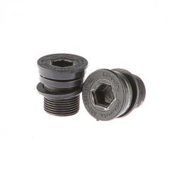 Miranda crank bolt Bosch 1-2, with 3 washers, black