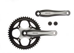 "Miranda crankset Beta 1+, 3/32"" 48T, black"
