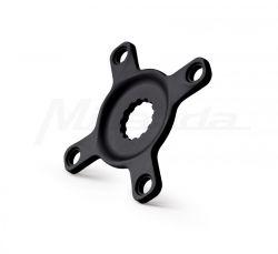 Miranda spider Bosch 3, BCD 104 mm, 4-hole 10mm, 50.0mm, black