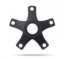 Miranda spider Bosch 4, BCD 110mm, 5 gats 47.5mm, zwart
