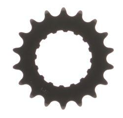 Miranda tandwiel 15T Bosch2, carbon staal, zwart