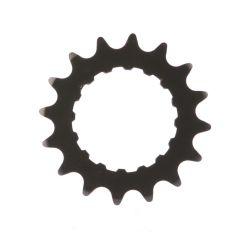 Miranda tandwiel 16T Bosch2, carbon staal, zwart