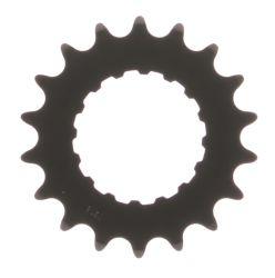 Miranda tandwiel 18T Bosch2, carbon staal, zwart