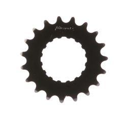 Miranda tandwiel 19T Bosch2, carbon staal, zwart