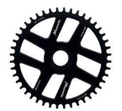 Miranda tandwiel Bosch 4, chainline 47.5mm 38T, DM, zwart