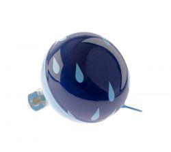 NietVerkeerd bel ding-dong, 60mm halfdesign Drops, blauw
