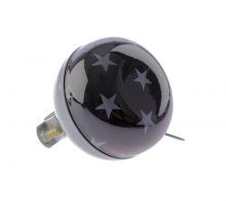 NietVerkeerd bel ding-dong, 60mm halfdesign Stars, grijs