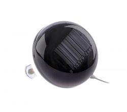 NietVerkeerd bel ding-dong, 60mm halfdesign Stripes, zwart