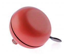 NietVerkeerd bel ding-dong, 80mm gekleurd Bourgogne, rood