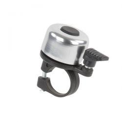 NietVerkeerd bel mini, 35mm gekleurd hoogglans, zilver