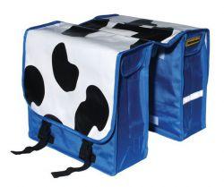 NietVerkeerd tas dubbel, koeienvlekken, blauw